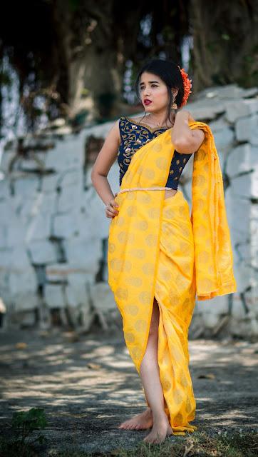 stylish draping