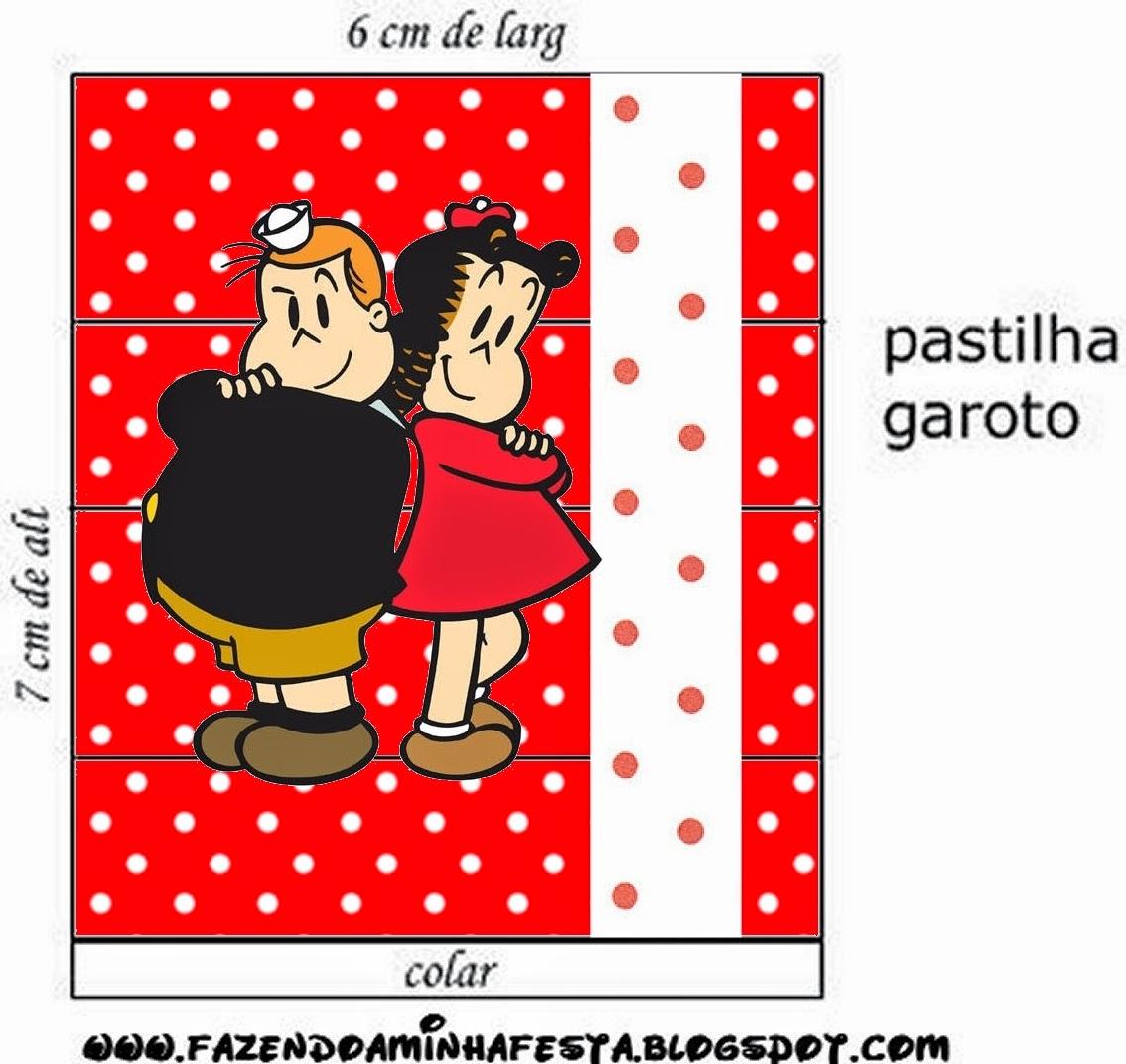 Etiquetas de La Pequeña Lulú para imprimir gratis.