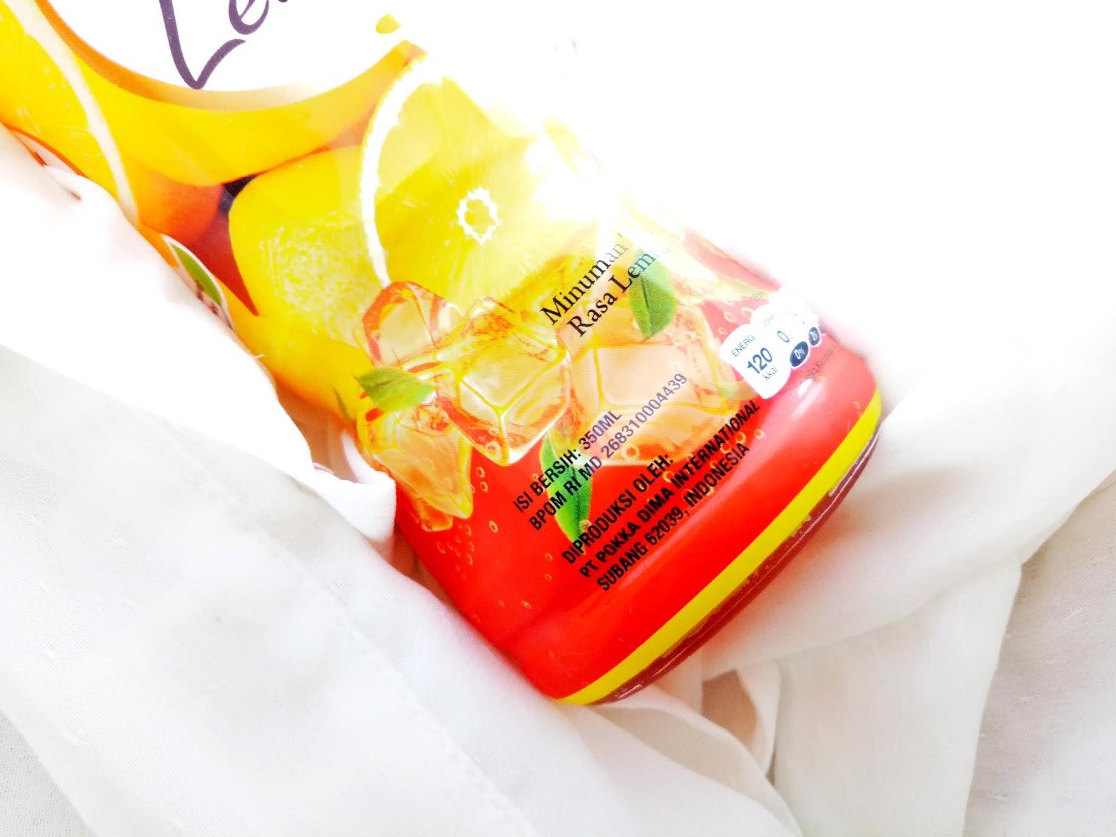Pokka Teh Lemon
