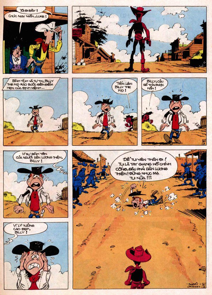 Lucky Luke tap 7 - ten billy the kid trang 41