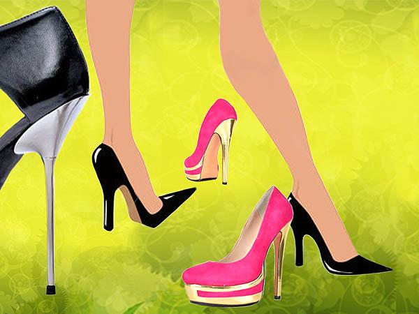 High heels untuk tampil elegan dan seksi
