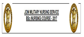 BSc NURSING COURSE Under JOIN MILITARY NURSING SERVICE 2018