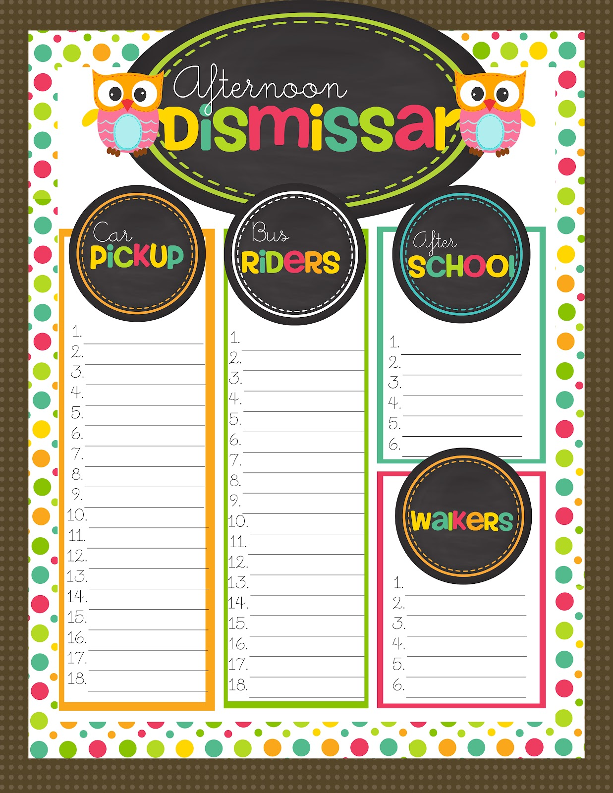 for Teachers - PikMyKid   Dismissal From School
