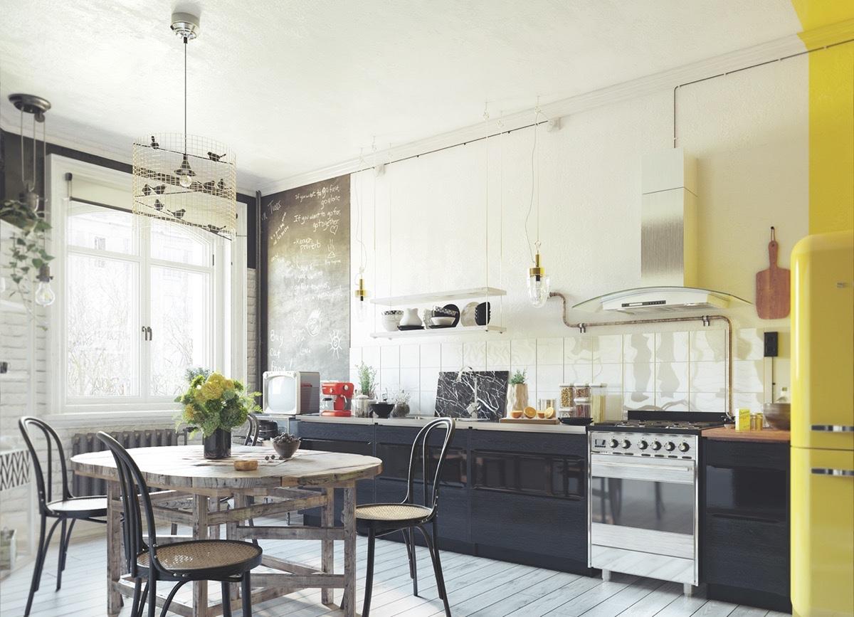 Những lưu ý khi thiết kế nội thất phòng ăn phong cách Vintage 2