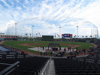 Home to center, The Ballpark of the Palm Beaches