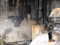 10 января 2018 года в результате пожара сгорел дом