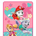Nick Jr Paw Patrol Girls Pup Heroes Throw