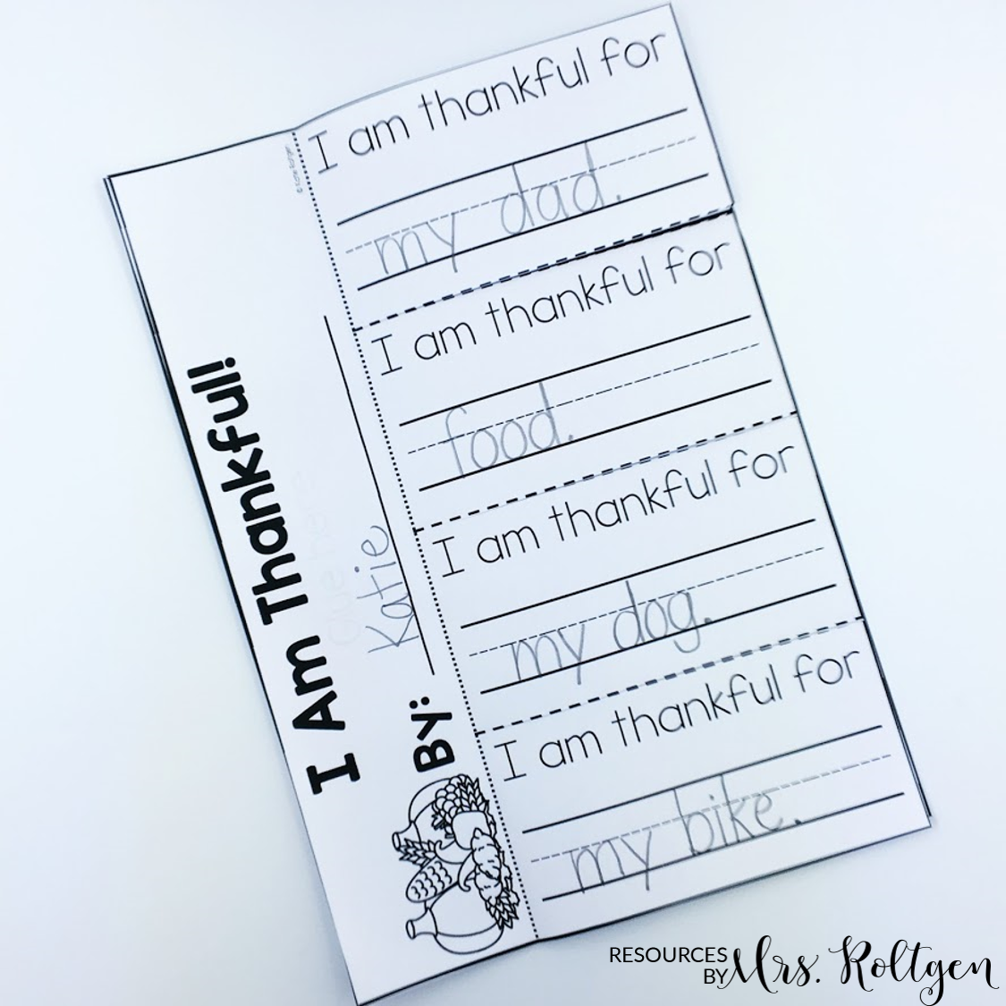 Thankful Activities for Kindergarten {Plus a FREEBIE!} | Resources ...