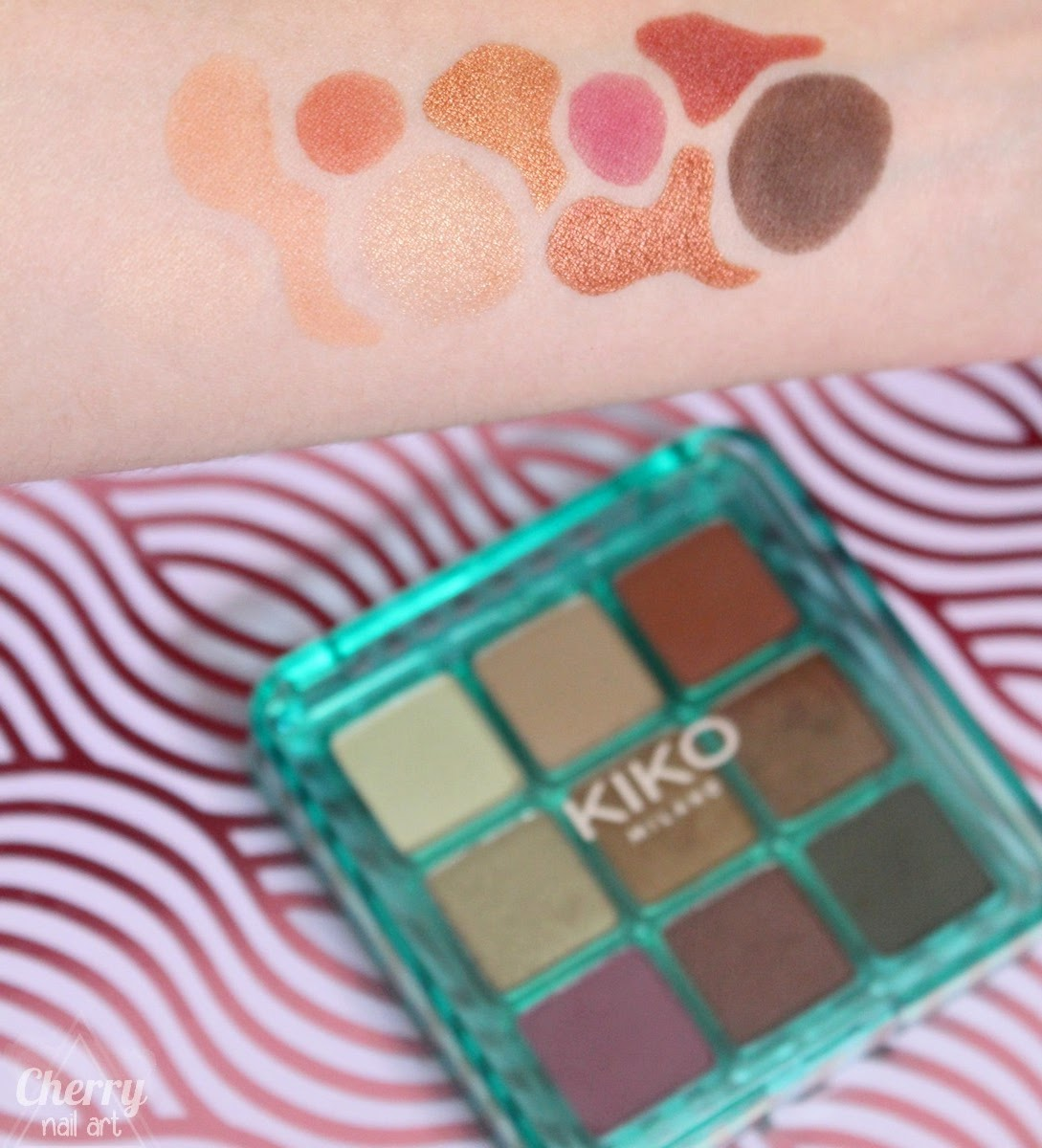 swatch-kiko-jelly-jungle-palette-fards-à-paupières-02-tropical-sunset