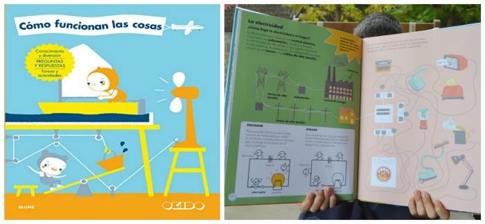 los mejores libros informativos para niños, libros conocimientos funcionamiento cosas