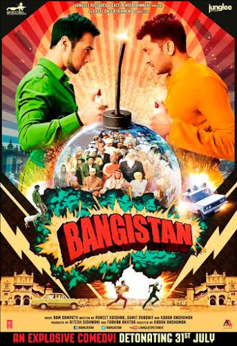 Bangistan (2015) Movie Poster No. 2