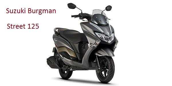 New 2018 Suzuki Burgman Street 125cc Premium Scooter