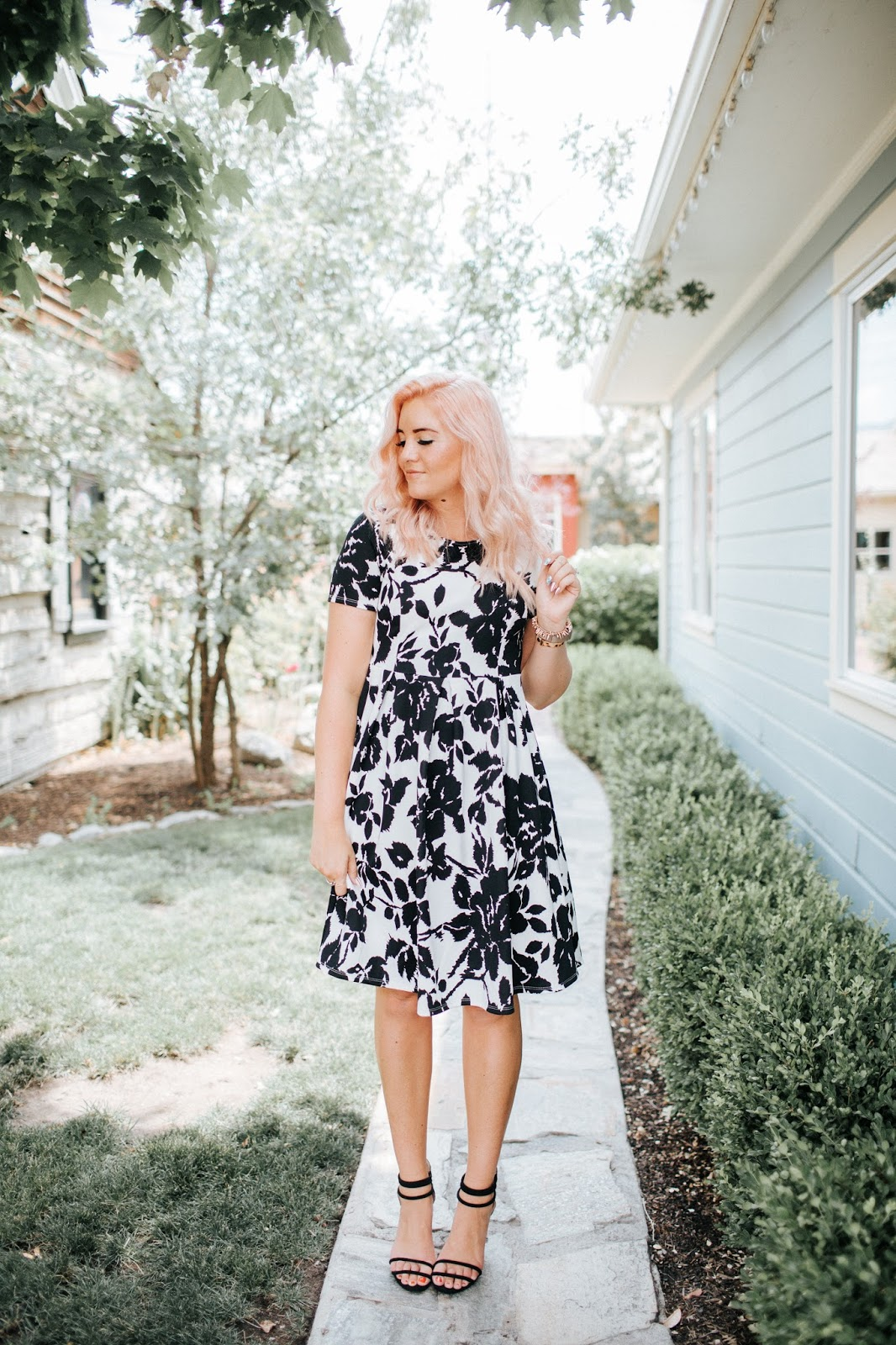 Floral Dress, Modest Dress, Bridesmaid Dress