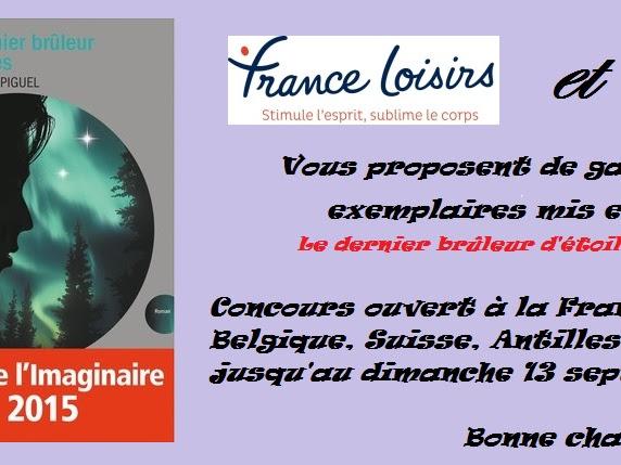 [Concours] Le dernier brûleur d'étoiles de Sophie Val-Piguel - Résultats