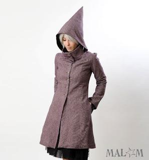 Manteau capuche lutin créateur