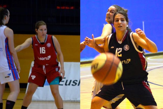 Baloncesto | Las jugadoras Marta Egido y Maite Muro del Barakaldo EST se retiran de las canchas