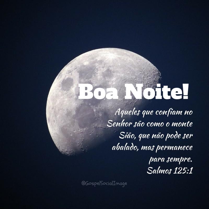 Boa Noite Segunda Feira Imagem Bíblica