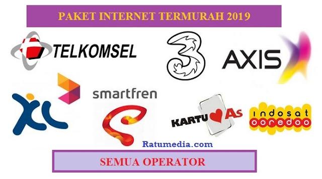 11 Harga Paket Internet termurah 2019
