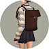 Female Backpack_백팩_여자 가방