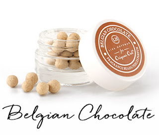 Belgian Chocolate Fragrance Beads available at StoriedCharms.com