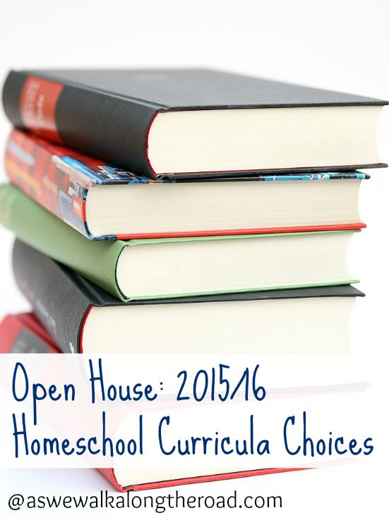 A look at our homeschool curricula choices for this year