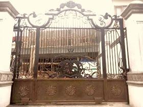 Pintu, Pagar, Minimalis, Gerbang, Besi Tempa,