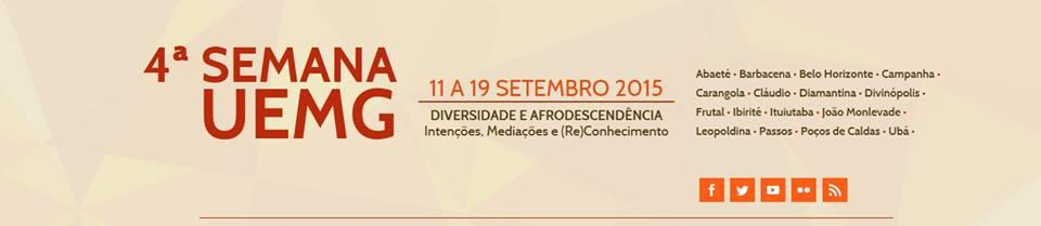 38751978dd A Universidade do Estado de Minas Gerais (UEMG) realiza até o dia 18 de  setembro a 4ª Semana UEMG