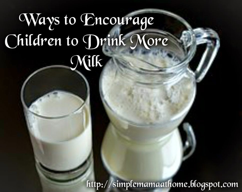 Ways to Encourage Children to Drink More Milk