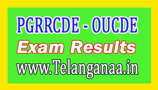 OUCDE MBA 1st Sem Exam Results Sept/Oct 2016