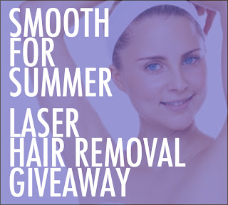 LASERHAIR_GIVEAWAY_GIRL GIVEAWAY! Smooth for Summer: Win Laser Hair RemovalGiveaway laser hair removal
