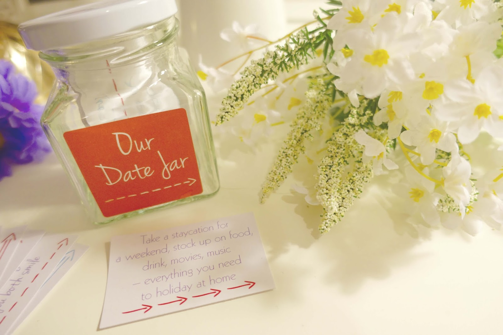 Date jar from notonthehighstreet