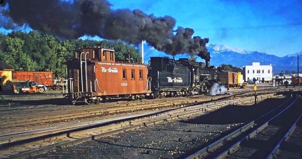 New Trans Am >> transpress nz: Rio Grande narrow gauge steam, Salida ...