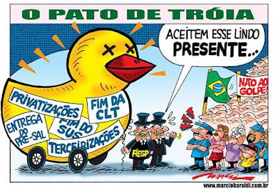 Resultado de imagem para O PATO DA FIESP