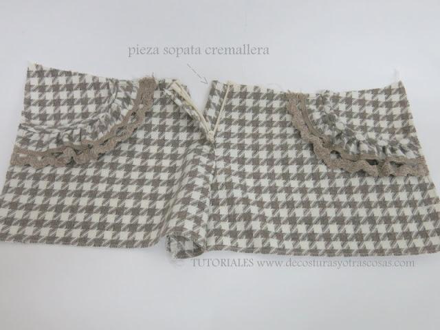 como hacer un short para niña con bolsillos adornados