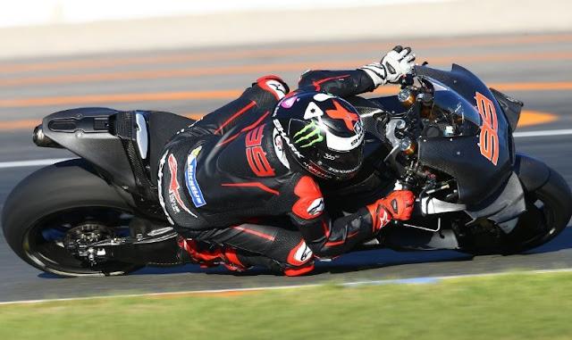 Uji Coba Lorenzo Bersama Ducati di Valencia Untuk Musim 2017