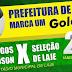 Prefeitura de Laje realizará amistoso entre Seleção de Laje x Amigos de Nadson