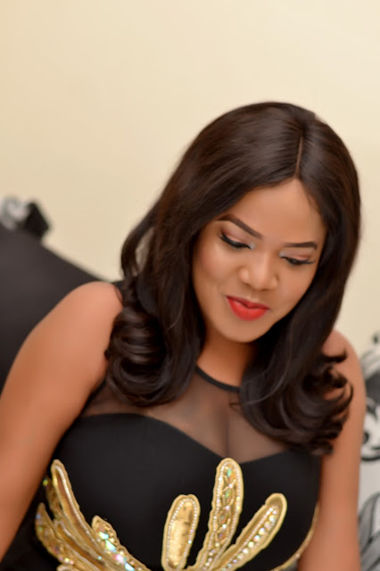 Toyin Aimakhu Is Exceptional As She Rocks Black Outfit To 'zahra' Movie Premiere