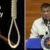 Pangulong Duterte nais ng buhayin ang Death penalty sa Bansa para sa Drug crimes!