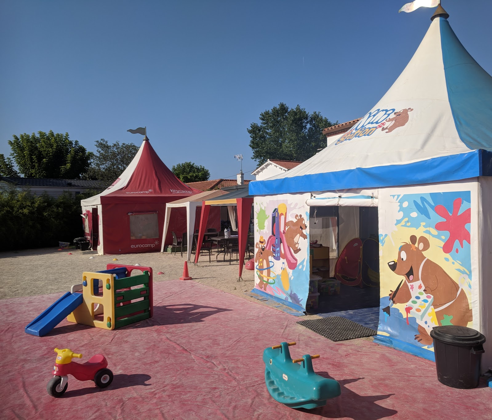 Les Ecureuils Campsite, Vendee - A Eurocamp Site near Puy du Fou (Full Review) - free kids club