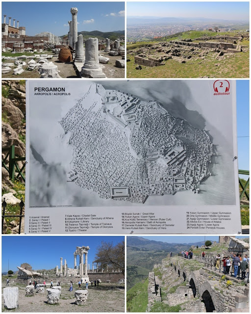 Pergamon was one of the modern city of Bergama that became the capital of Kingdom of Pergamon during Hellenistic Period in Turkey