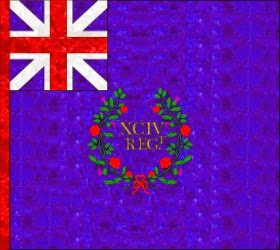 94th Regiment of Foot  Regimental Colour