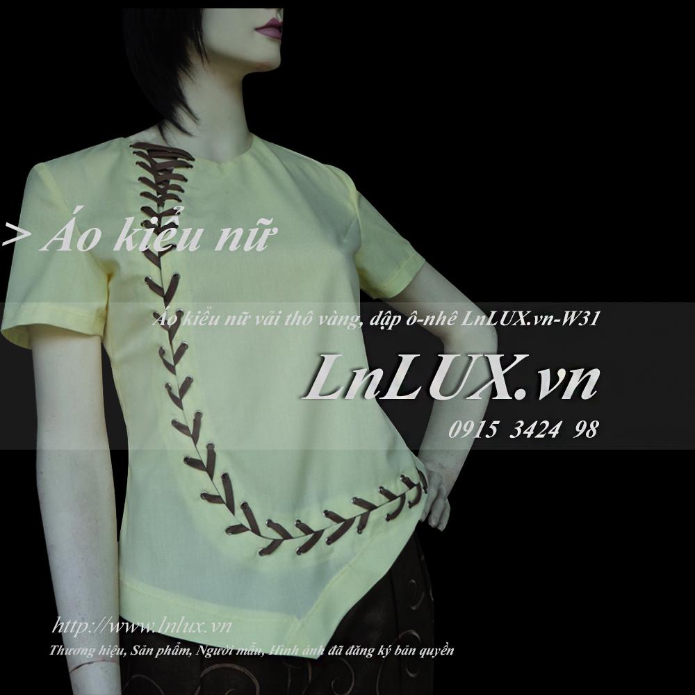 lnlux.vn-ao-kieu-nu-vai-tho-vang-dap-o-nhe-lnlux-w31