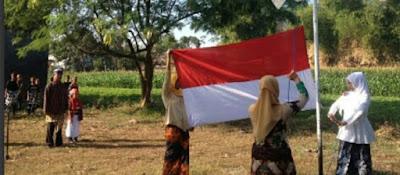 Warga di Jombang Gelar Upacara Kemerdekaan RI Berbahasa Jawa