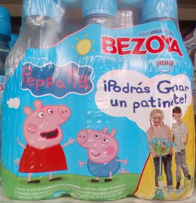 conseguir patinete Peppa Pig con Bezoya