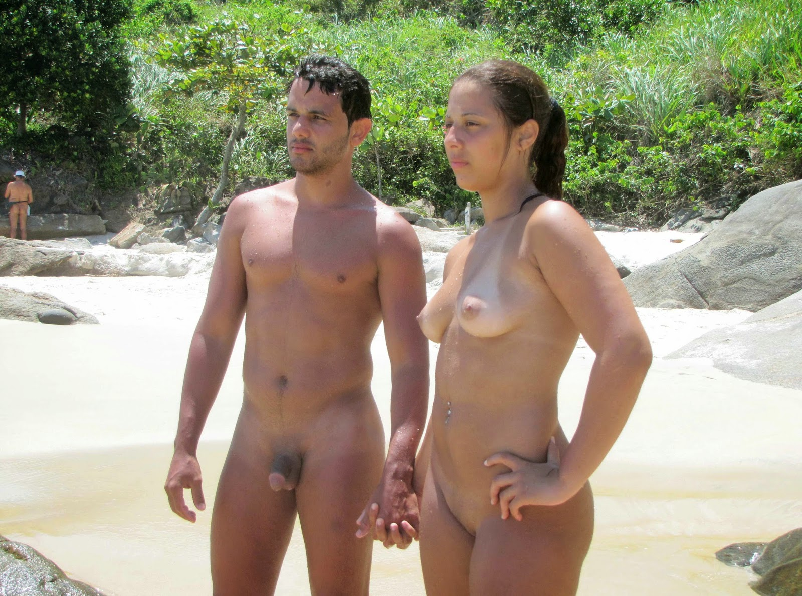 resort Nude beach nudist