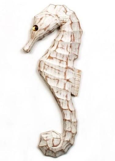 Wooden Seahorse Cutout