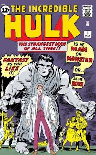 Primer número del cómic del Increíble Hulk