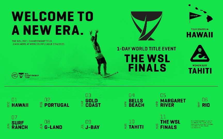 1 WSL Tour Tranformation Calendar