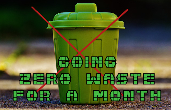Going Zero Waste for a Month