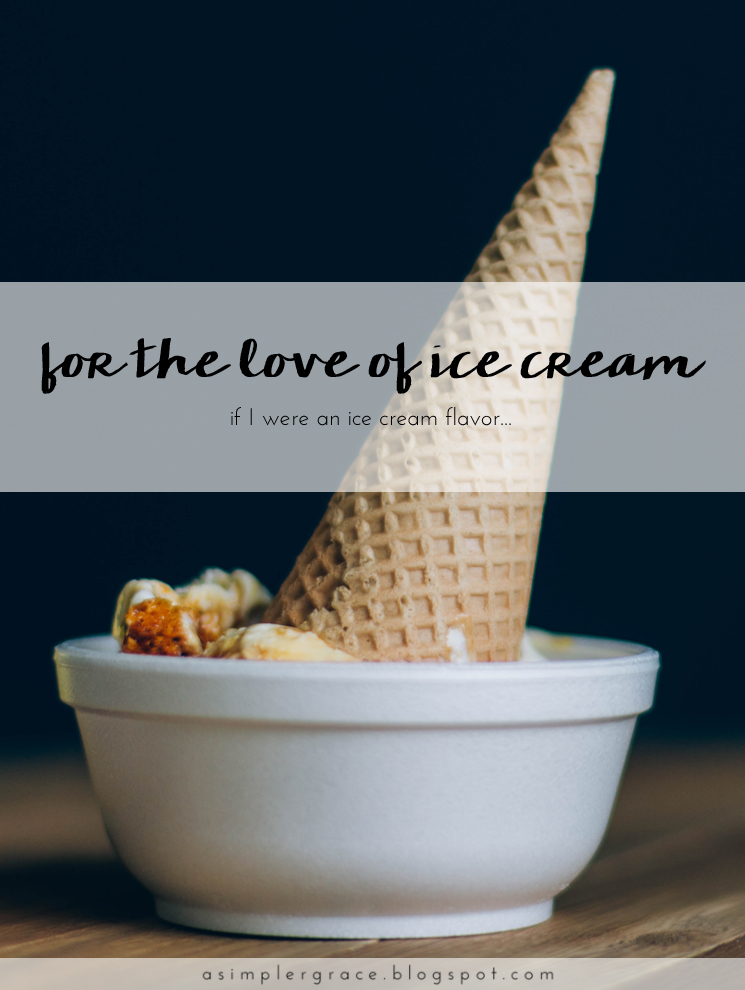 For the Love of Ice Cream | Blog-tember Day 21 #blogtemberchallenge